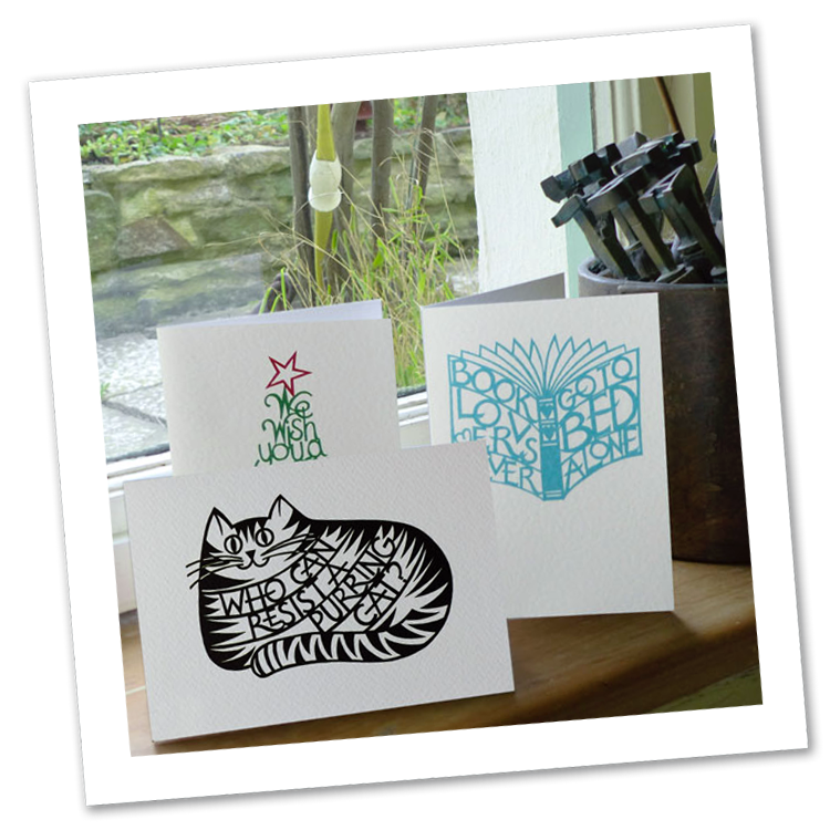 Christine Green Papercut Design Cards