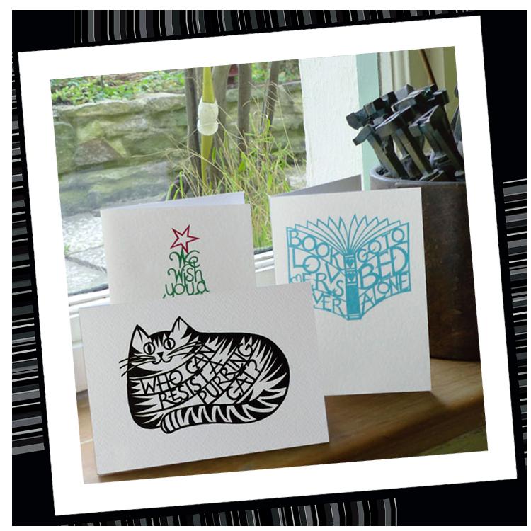 Christine Green Papercut Design Cards