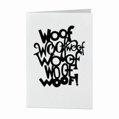 Card - Woof woof woof