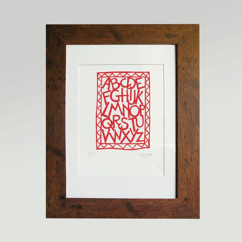 Print - Alphabet